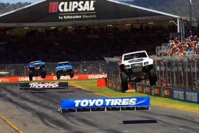 STADIUM SUPER TRUCKS REACH ANOTHER MILESTONE WITH A PRESTIGIOUS INVITATION TO ENGLAND'S GOODWOOD FESTIVAL OF SPEED