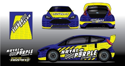 STEVE ARPIN DEBUTS BOLD NEW ROYAL PURPLE LIVERY IN NEW YORK