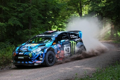 KEN BLOCK AND ALEX GELSOMINO WIN 2013 SUSQUEHANNOCK TRAIL PERFORMANCE RALLY