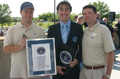SUBARU OF AMERICA IN PARTNERSHIP WITH THE VILLAGE OF ITASCA, ATTEMPTS TO SET A GUINNESS WORLD RECORDS® RECORD