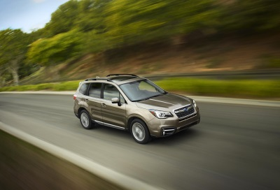 SUBARU ANNOUNCES PRICING ON 2017 FORESTER MODELS