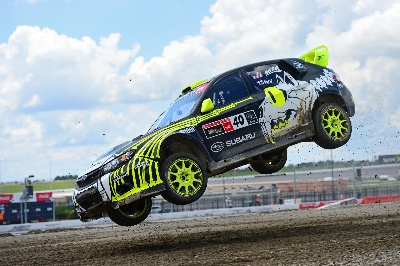Subaru Earns Second Straight Podium In Global Rallycross Championship