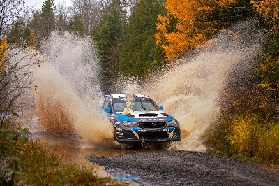 SUBARU RALLY TEAM USA'S DAVID HIGGINS CAPS OFF NEAR-PERFECT SEASON WITH VICTORY AT LAKE SUPERIOR PERFORMANCE RALLY