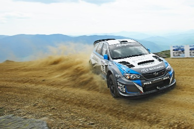 SUBARU DRIVER DAVID HIGGINS BREAKS COURSE RECORD AGAIN AT LEGENDARY MT. WASHINGTON HILLCLIMB
