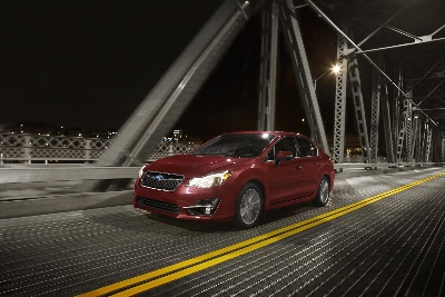 SUBARU ANNOUNCES PRICING ON 2015 IMPREZA® MODELS