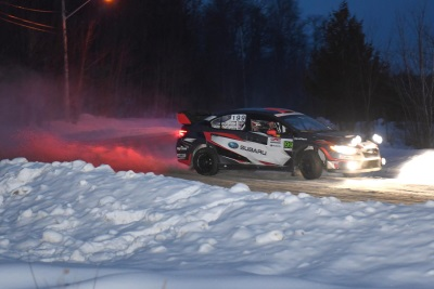 Victory For Subaru Rally Team USA At Inaugural American Rally Association Championship Event Rallye Perce Neige