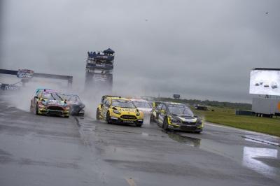 Subaru On The Podium At Red Bull Global Rallycross Atlantic City