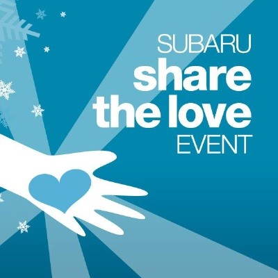 SUBARU SEVENTH ANNUAL 'SHARE THE LOVE' CHARITY EVENT TO SET NEW DONATION RECORD