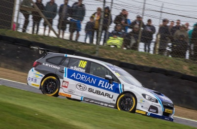 Subaru Star Sutton Wins BTCC Title
