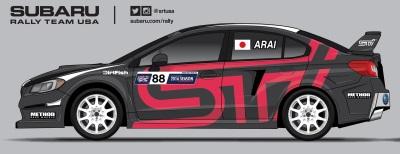 SUBARU RALLY TEAM USA CONFIRMS THREE-CAR TEAM ENTRY FOR RED BULL GRC LOS ANGELES
