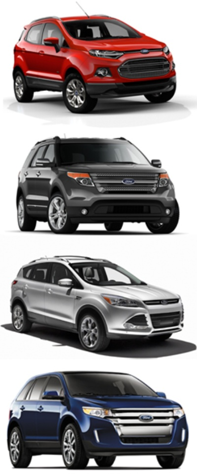 Utility Vehicles Driving Ford To Unprecedented Sales Gains In Critical Markets Around The World