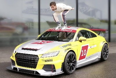 SVEN HANNAWALD IMPRESSED BY AUDI SPORT TT CUP