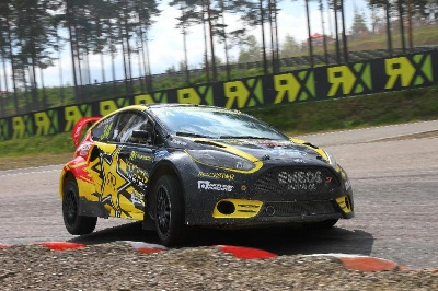 Victory For Tanner Foust In Finland American Rockstar Energy Drink Driver Takes Second Win Of 2013