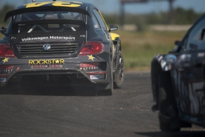 Tanner Foust Takes Rallycross Championship Fight To Atlantic City