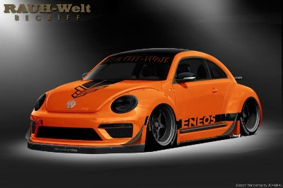 TANNER FOUST'S RAUH-WELT BEGRIFF VOLKSWAGEN BEETLE TO BE UNVEILED AT SEMA