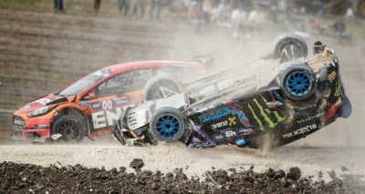 TANNER FOUST WINS RED BULL GLOBAL RALLYCROSS BARBADOS I IN WILD FINISH