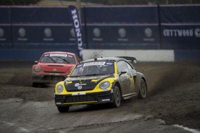 TANNER FOUST GRABS VICTORY IN SEATTLE FOR THE VOLKSWAGEN ANDRETTI RALLYCROSS TEAM