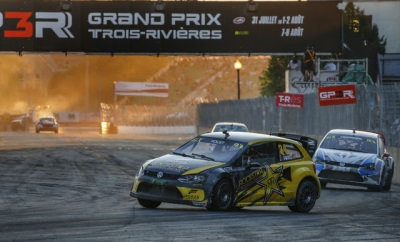 PODIUM RESULT FOR TANNER FOUST IN WORLD RX OF CANADA ROCKSTAR ENERGY DRINK DRIVER RACES D.C. NEXT WEEKEND