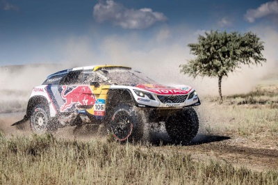 Double Podium For Team Peugeot Total As Silk Way Rally Moves Into China