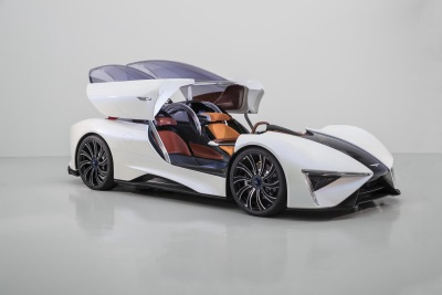 Techrules To Display Ren Supercar At Prestigious Concorso d'Eleganza At The Villa d'Este