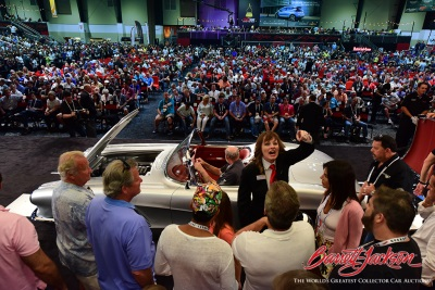World Records, Charity Car Sales And High Energy Highlight 15Th Annual Barrett-Jackson Palm Beach Auction
