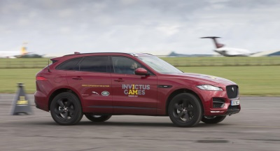 Zara Tindall And Lewis Moody Join UK Invictus Team For Jaguar Land Rover Driving Challenge