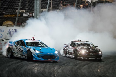 'TITLE FIGHT' SPONSORED BY GUMOUT AT THE FORMULA DRIFT CHAMPIONSHIP PRESENTED BY BLACKVUE DASH CAMERAS ROUND 8 RESULTS