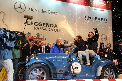 Mille Miglia  The Argentinian couple Tonconogy-Berisso triumphs