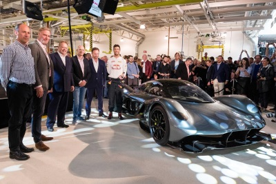 TOTAL SUPPORTS ASTON MARTIN AND RED BULL RACING AT THE UNVEILING OF THE RADICAL AM-RB 001 HYPERCAR