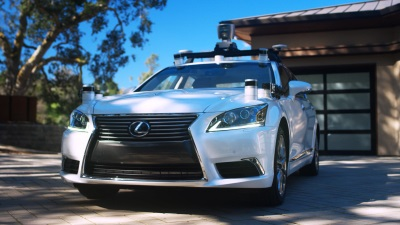 First Autonomous Test Vehicle Developed Entirely by Toyota Research Institute Displayed at Prius Challenge Event at Sonoma Raceway