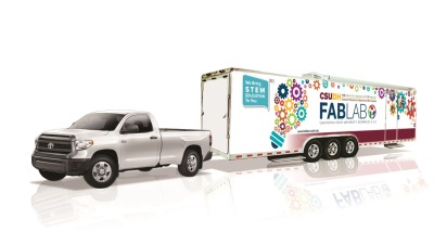 Toyota And California State University, Dominguez Hills Dedicate Mobile Fabrication Laboratories