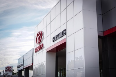 TOYOTA OF CORVALLIS ON TRACK TO BE WORLD'S FIRST NET ZERO ENERGY AUTO DEALERSHIP