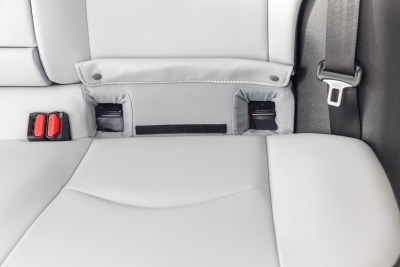 TOYOTA ENGINEERS EASIER ACCESS FOR CHILD SAFETY SEAT MOUNTS