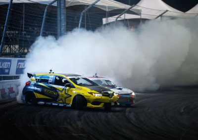 Toyota Claims Formula Drift Manufacturer Title, Three Race Victories