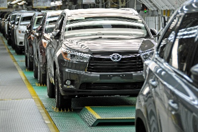 Toyota Indiana Adding 300 Jobs to Build More Highlanders