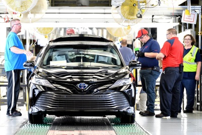 Going All In: Toyota Kentucky Launches Production Of Cutting-Edge Camry