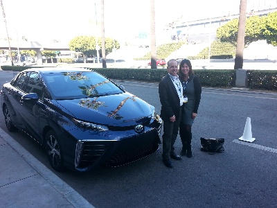 Toyota Mirai Winners Celebrate The Future