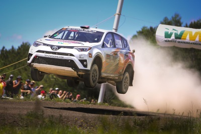 Toyota Set To Clinch Title At New England Forest Rally