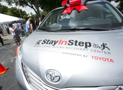Toyota Helps Paralyzed Veteran Open Spinal Cord Injury Recovery Center