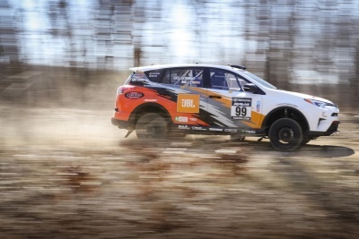 Rally RAV4 Finishes Second At 100 Acre Wood