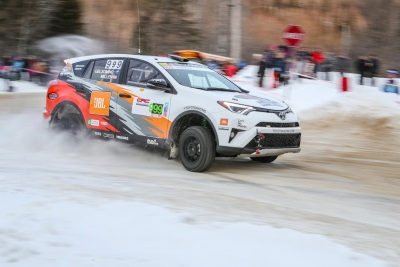 Rally RAV4 Comes Out Of Gate Strong With Win At Perce Neige