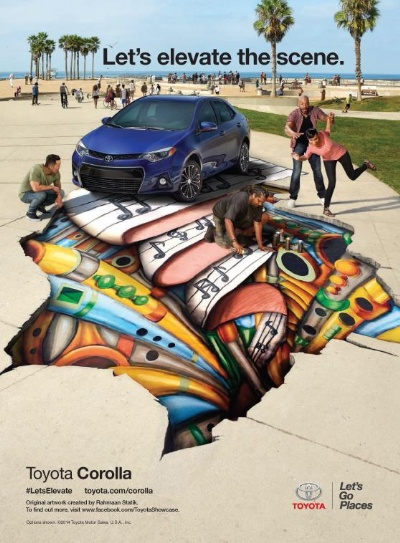 LIGHT UP TWITTER! TOYOTA AND REVOLT CREATE A CONVERGENCE OF NEW TECHNOLOGY, ART AND MUSIC DURING SXSW
