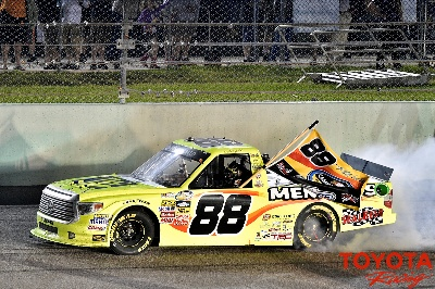 Tundra Driver Crafton Is First Back-to-Back Series Champion