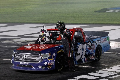 Tundra Drivers Make History. Break NASCAR Record