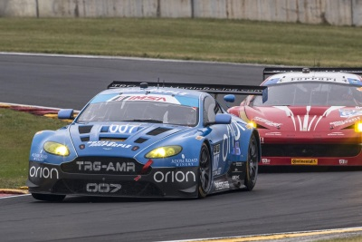 TRG-ASTON MARTIN RACING AND CHRISTINA NIELSEN TAKE GTD SERIES LEAD IN THE TUDOR UNITED SPORTSCAR CHAMPIONSHIP
