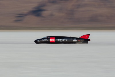 TRIUMPH CONFIRMS SEPTEMBER DATE FOR LAND SPEED RECORD ATTEMPT AT BONNEVILLE