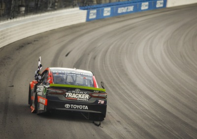 Historic Victory And Heavy Hearts For Truex's Toyota At Kansas
