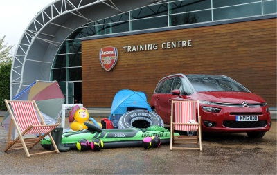 WITH ALMOST HALF A MILLION UK PARENTS AT RISK, CITROËN AND ARSENAL FC TEAM UP TO TACKLE 'PACKING RAGE'