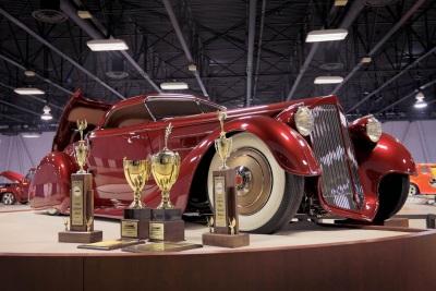 'Mulholland Speedster' Awarded The Custom d'Elegance At The 67Th Annual Sacramento Autorama