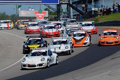 URRY POWERS AWAY FROM FIELD FOR FIRST PORSCHE GT3 CUP CHALLENGE USA VICTORY OF SEASON IN ROUND #9